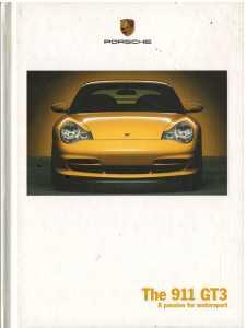 Catalogue PORSCHE 996 GT3 2004 (Anglais)