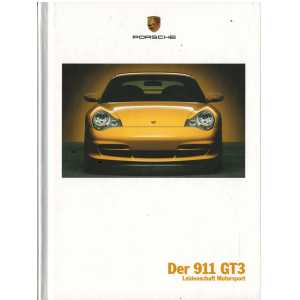 Catalogue PORSCHE 996 GT3 2004 (Allemand)