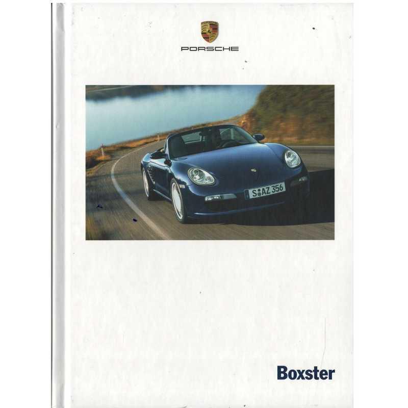 Catalogue PORSCHE BOXSTER CAYMAN 2006 ( Néerlandais )