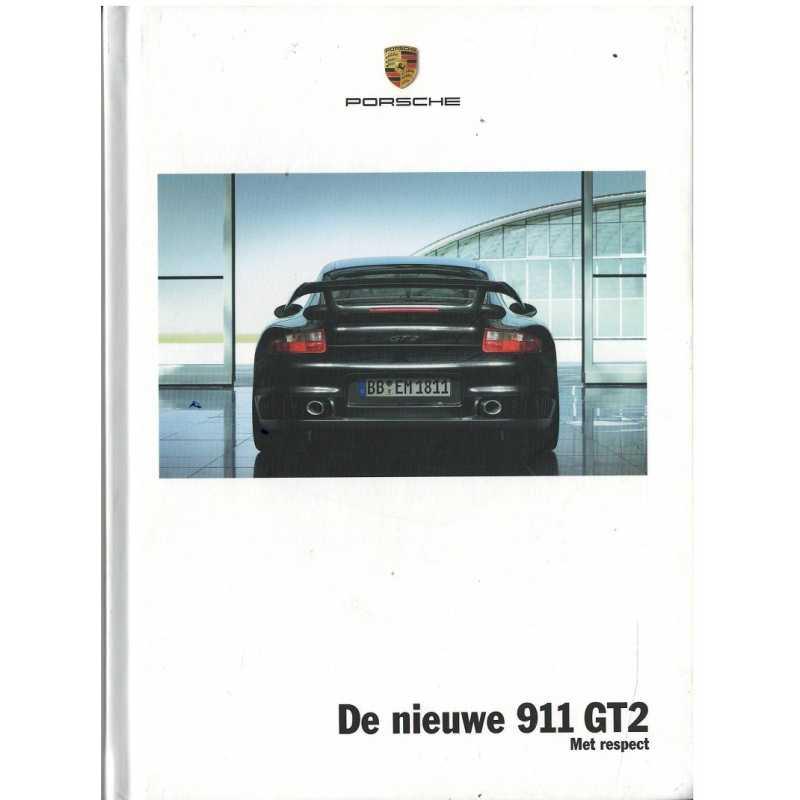 Catalogue PORSCHE 997 GT2 2007 (Néerlandais)