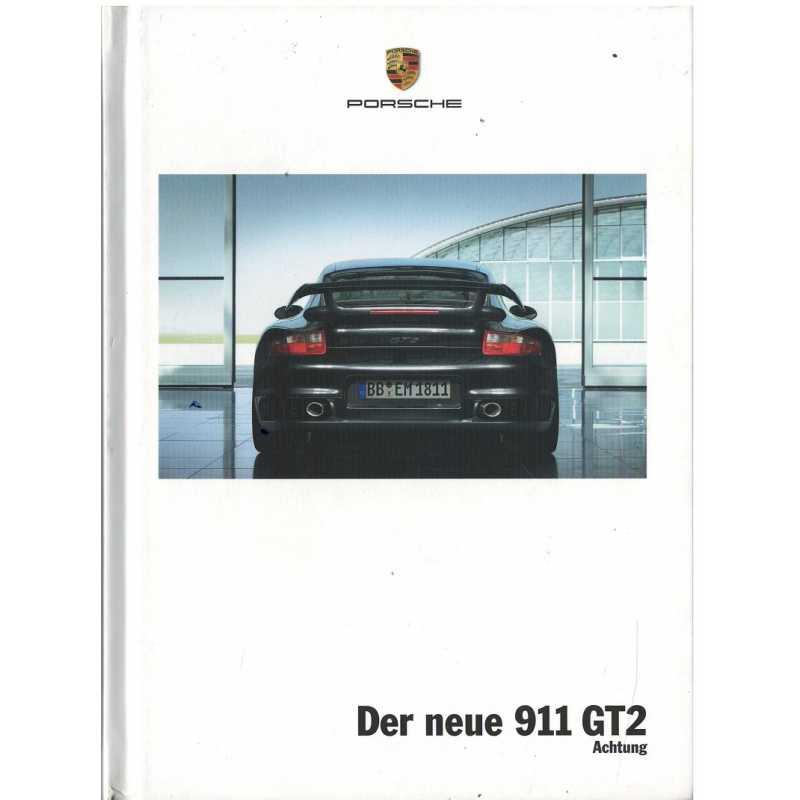 Catalogue PORSCHE 997 GT2 2007 (Anglais)