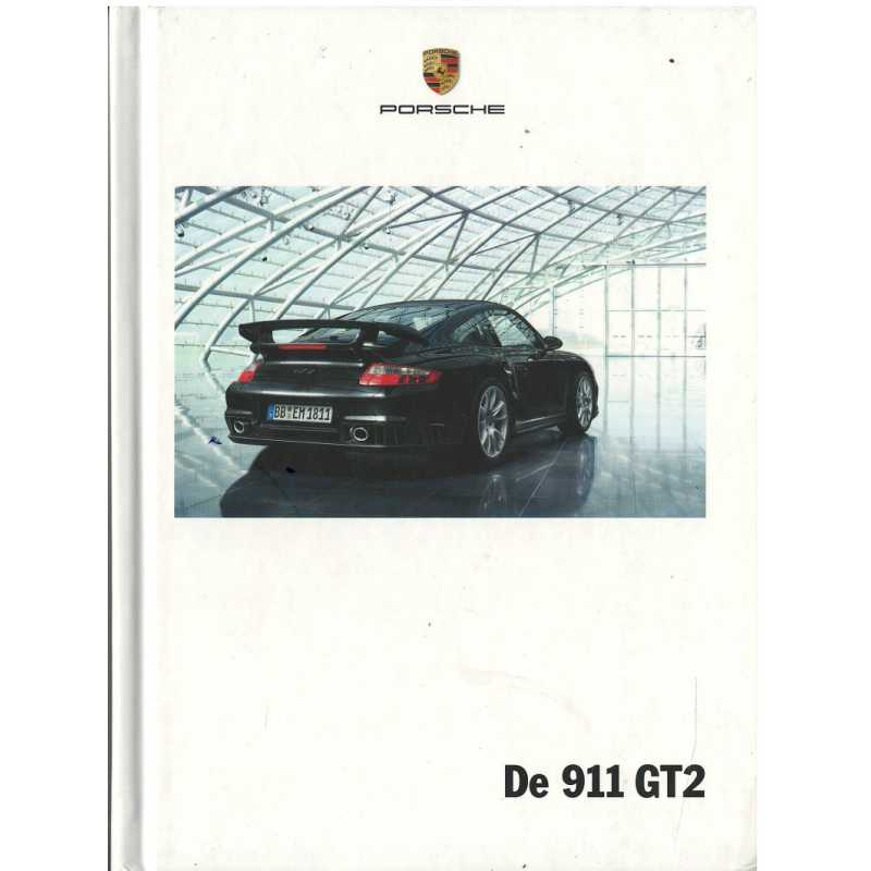 Catalogue PORSCHE 997 GT2 2008 (Néerlandais)
