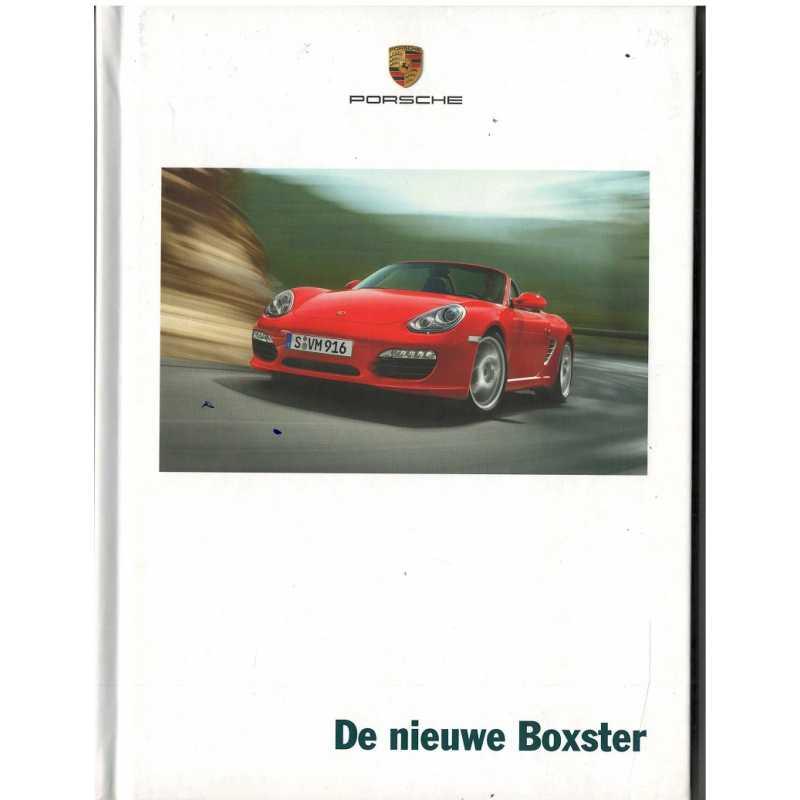 Catalogue PORSCHE BOXSTER 2008 ( Néerlandais )