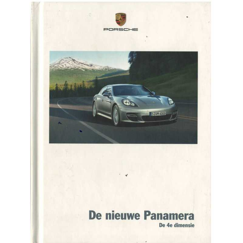 Catalogue PORSCHE PANAMERA 2008 ( Néerlandais )