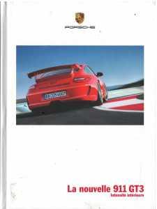 Catalogue PORSCHE 997 GT3 2008 (Français)