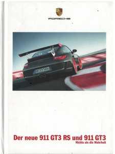 Catalogue PORSCHE 997 GT3-GT3RS 2009 (Allemand)