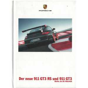 Catalogue PORSCHE 997 GT3-GT3RS 2009 (Allemand)