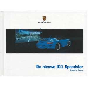 Catalogue PORSCHE 997 Speedster 2010 ( Néerlandais )