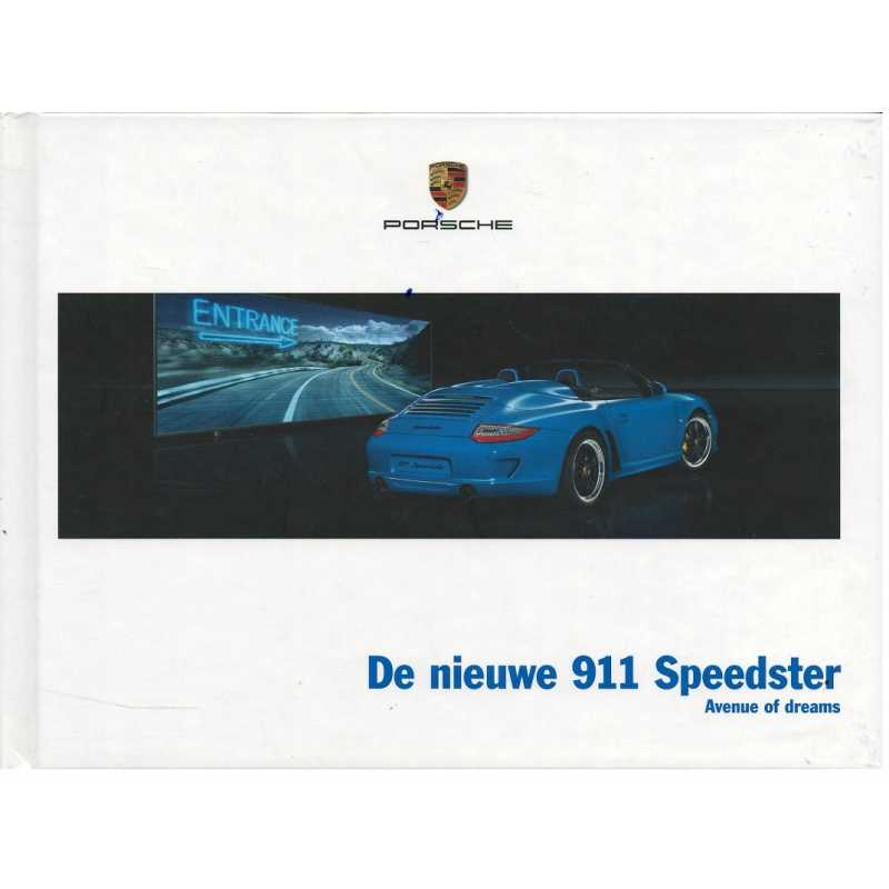 Catalogue PORSCHE 997 Speedster 2010 ( Néerlandais )