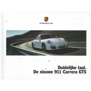 Catalogue PORSCHE 997 Carrera GTS 2010 (Néerlandais)