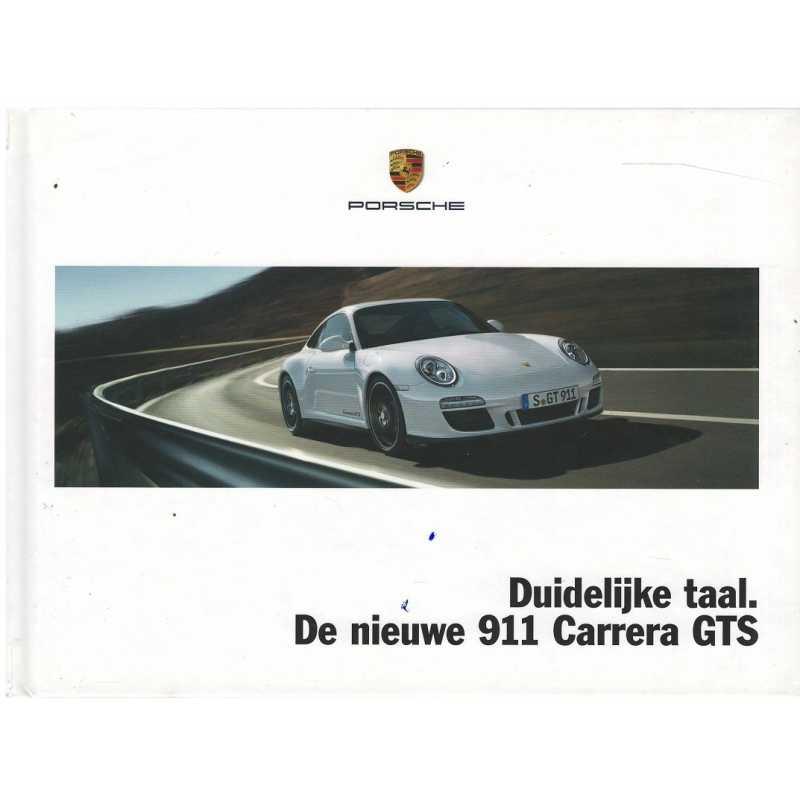 Catalogue PORSCHE 997 Carrera GTS 2010 (Néerlandais)