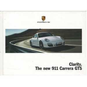 Catalogue PORSCHE 997 Carrera GTS 2010 (Anglais)