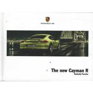 Catalogue PORSCHE CAYMAN R 2010 (Anglais)