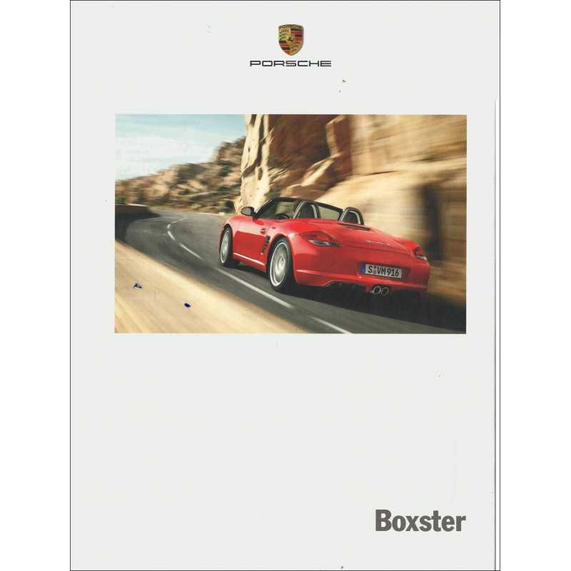 Catalogue PORSCHE BOXSTER 2012
