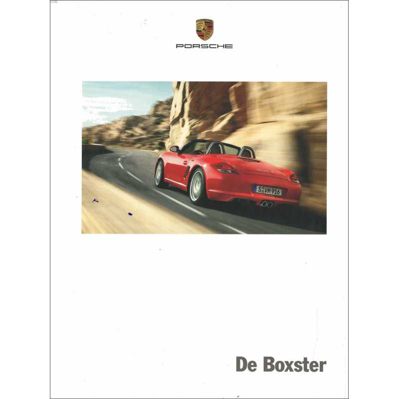 Catalogue PORSCHE BOXSTER de 2012