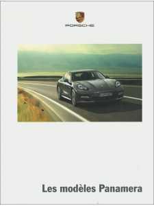Catalogue PORSCHE PANAMERA Tous modèles 2012