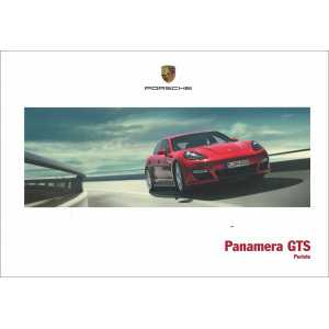 Catalogue PORSCHE PANAMERA GTS 2012