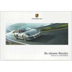 Catalogue PORSCHE BOXSTER 2011