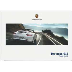 Catalogue PORSCHE 991 Coupé-Cabriolet 2011