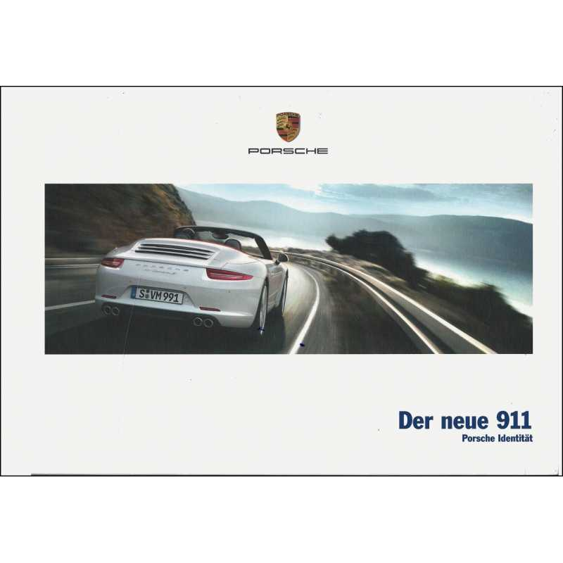 Catalogue PORSCHE 991 Coupé-Cabriolet 2011