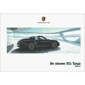 Catalogue PORSCHE 991 TARGA de 2013