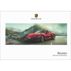 Catalogue PORSCHE BOXSTER 2014