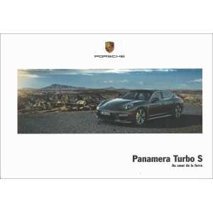 Catalogue PORSCHE PANAMERA Turbo S 2014