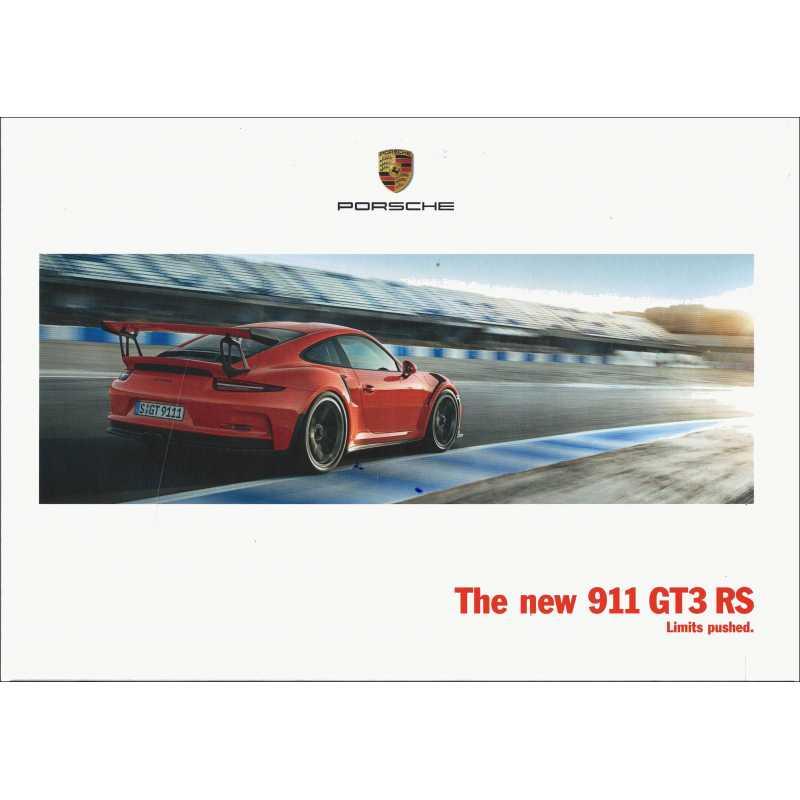 Catalogue PORSCHE 991 GT3 2015