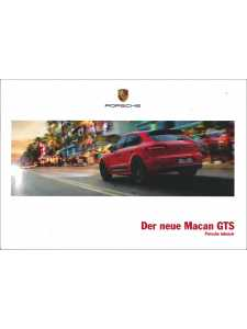 Catalogue PORSCHE MACAN GTS 2015