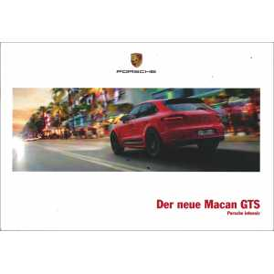 Catalogue PORSCHE MACAN GTS 2015