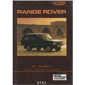 RANGE ROVER V8 TURBO D / ETAI / 9782726880852