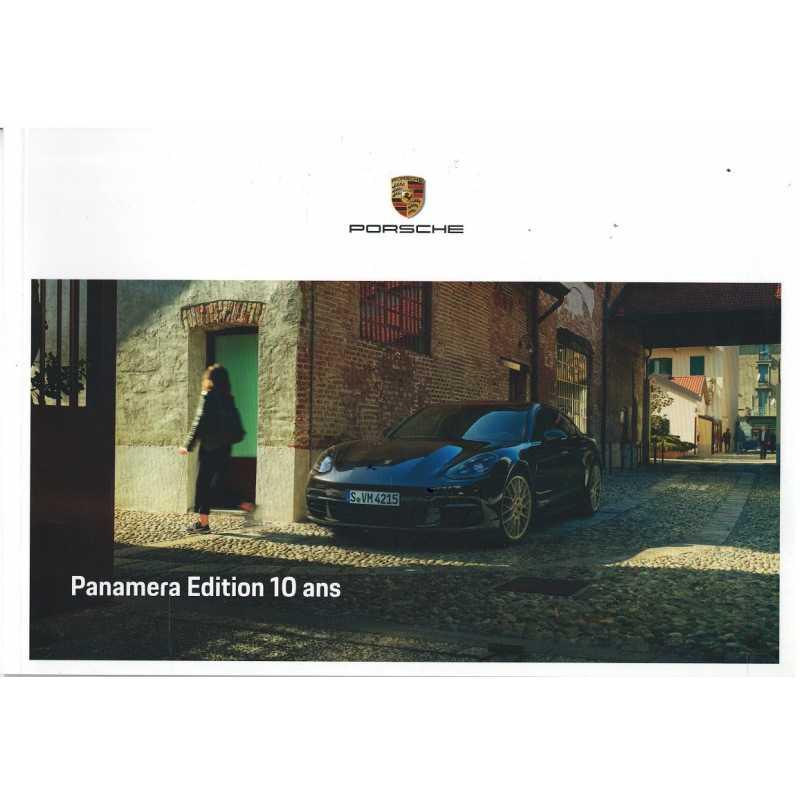 Catalogue PORSCHE PANAMERA 10° anniversaire 2019 (Français)