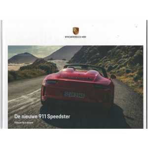 Catalogue PORSCHE 991 Speedster 2019 (Néerlandais)