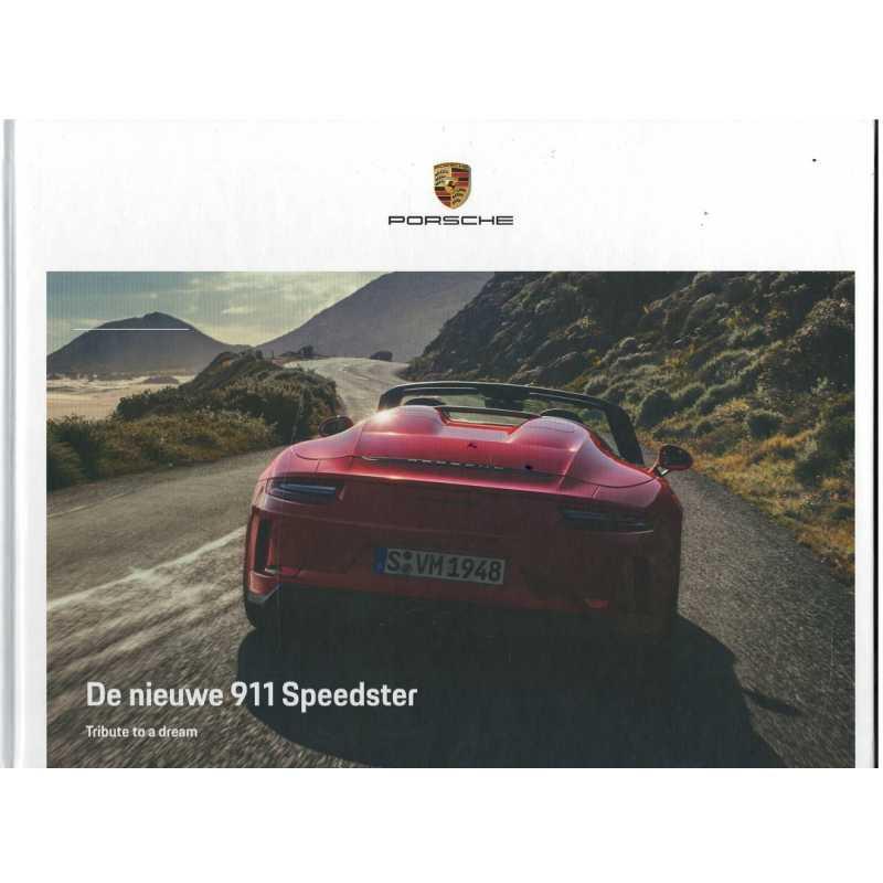 Catalogue PORSCHE 991 Speedster 2019 (Néerlandais)