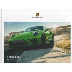 Catalogue PORSCHE 991 GT3 RS de 2019 (Français)