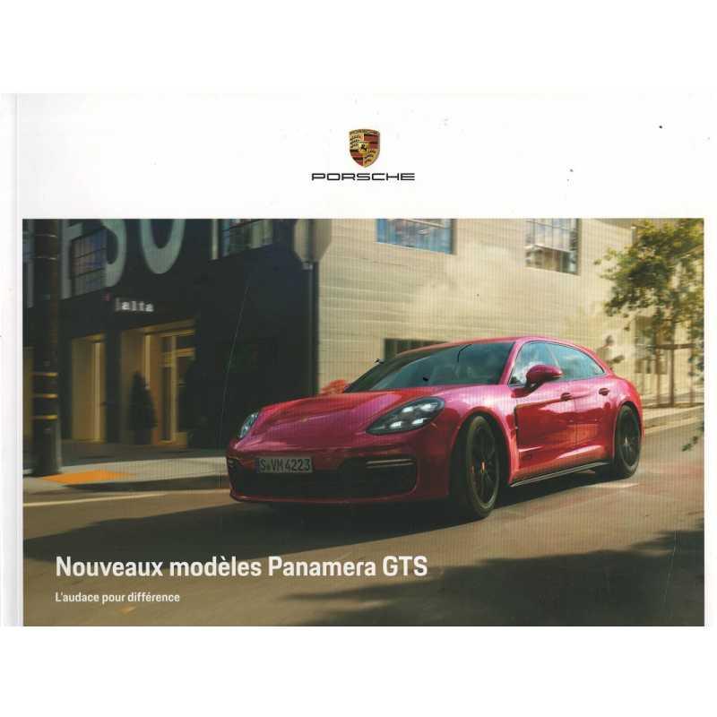 Catalogue PORSCHE PANAMERA GTS Berline-Sport Turismo (Français) de 2018