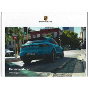 Catalogue PORSCHE MACAN de 2018 (Allemand)