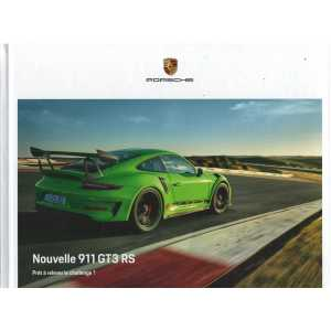 Catalogue PORSCHE 991 GT3 RS de 2018 (Français)