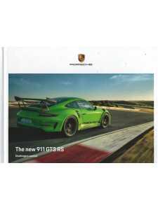 Catalogue PORSCHE 991 GT3 RS de 2018 (Anglais)
