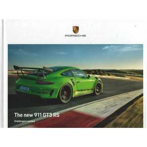 Catalogue PORSCHE 991 GT3 RS de 2018 (Anglais)