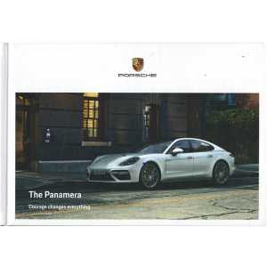 Catalogue PORSCHE PANAMERA de 2017 (Anglais)