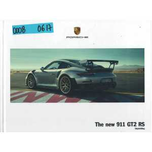 Catalogue PORSCHE 991 GT2 RS de 2017 (Anglais)