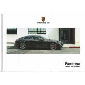 Catalogue PORSCHE PANAMERA dont Turbo Executive (Français) de 2017