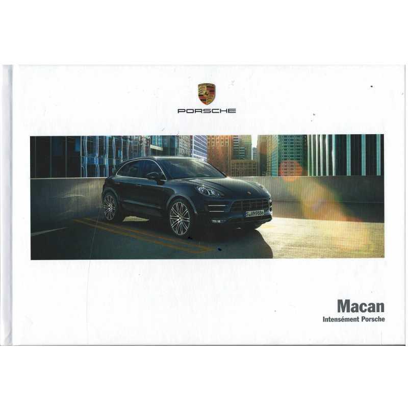 Catalogue PORSCHE MAYCAN incluant GTS (Français) de 2017