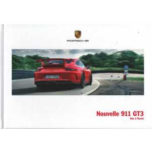 Catalogue PORSCHE 991 GT3 (Français) 2017