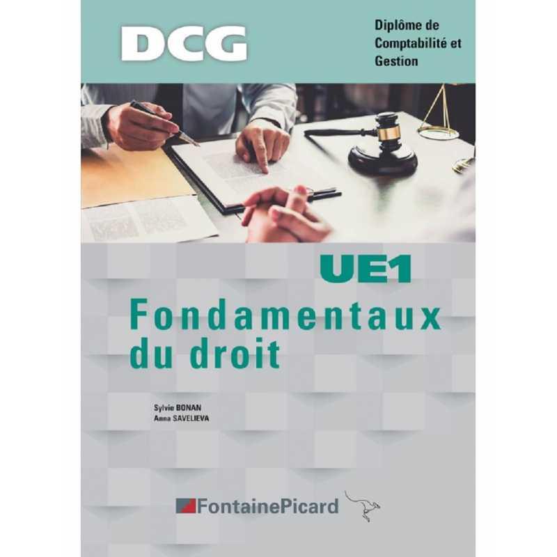 Fondamentaux du droit DCG / Edition Fontaine Picard / UE1 / 9782744631832