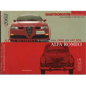 ALFA ROMEO  Le sportive dalla 1900 alla 147 GTA