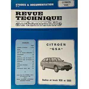Revue Technique Citroën GSA