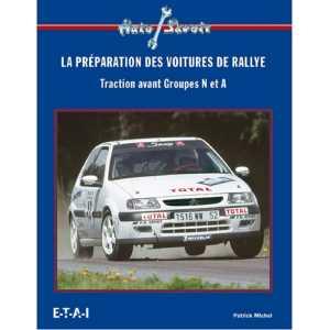 préparation des voitures de rallye