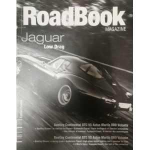 Roadbook magazine nº 10 - Jaguar Low Drag **Revue Magazine Automobile**
